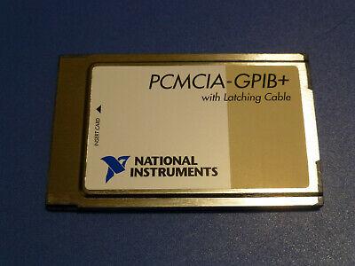 National Instruments Pcmcia-gpib Controller Analyzer Card 187039c-01