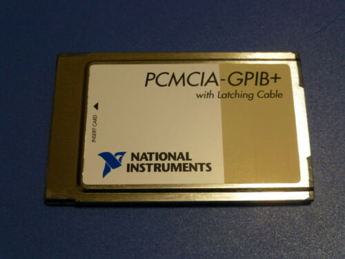 National Instruments PCMCIA-GPIB+ Controller / Analyzer Card 187039C-01