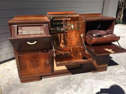 Retro Record Player Radiogram