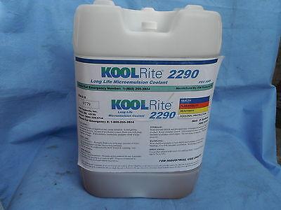 Kool Rite 2290 Cutting Fluid Bridgeport Mill Cnc Lathe Soluble Oil Coolant