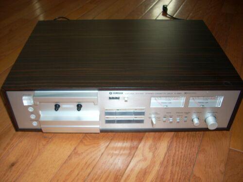 YAMAHA K-850 natural sound stereo cassette deck - NEEDS BELTS -