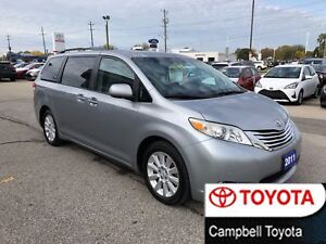 2011 Toyota Sienna LIMITED WITH AWD--DVD--NAV--HEATED LEATHER