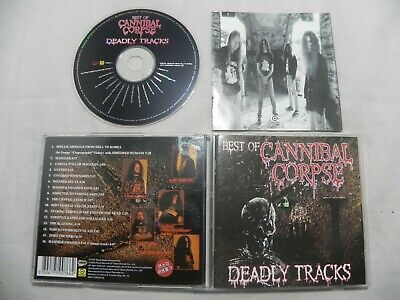 Cannibal Corpse - Deadly Tracks (Best) Only Korea Release CD
