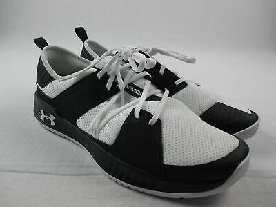 Under Armour Showstopper 2.0 Running, Cross Training Men's Black/White Used 16
