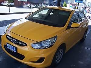 Hyundai Accent Sedan Hobart CBD Hobart City Preview