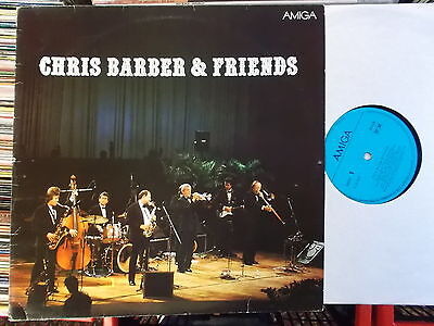 CHRIS BARBER & FRIENDS DDR AMIGA LP: CHRIS BARBER & FRIENDS (856283)