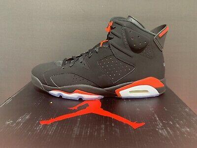 NIKE AIR JORDAN 6 VI RETRO 384664-060  'Infrared' 2019 Sneakers Size (Air Jordan 14 Retro Sneakers)
