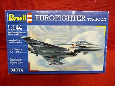 Revell 1:144 Scale 4074 Eurofighter Typhoon Sealed in Bag No1