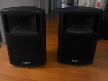 Active Powered PA speakers, JBT MAXX 4a 400w rms QUALITY PAIR