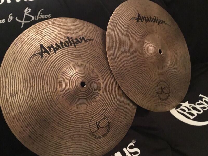 "NEW 14"" Anatolian Jazz Collection Passion Hi Hats"