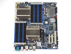 INTEL GA-7TESM GIGABYTE REV 1.0 LGA 1366 SYSTEM BOARD WITH 2X HEATSINKS
