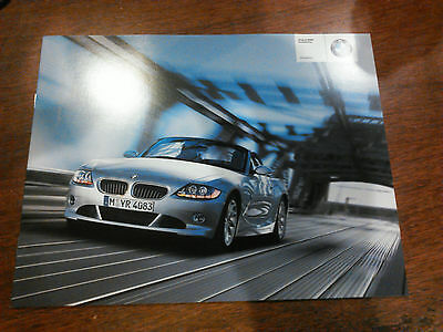 - BMW OFFICIAL Z4 ROADSTER ACCESSORIES SALES BROCHURE 2003 USA EDITION