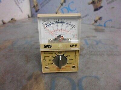 Aws Sp-5 500 V Pocket Size Analog Multimeter