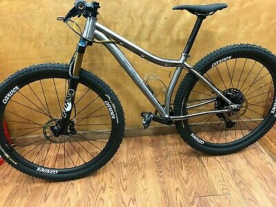 910090b5e6f carver 29er titanium mountain bike - size small