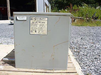 Hevi-duty 7.5 Kva Dryencapsulated Isolation Transformer 460-460y266