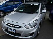 2013 Hyundai Accent Hatchback Burnie Burnie Area Preview