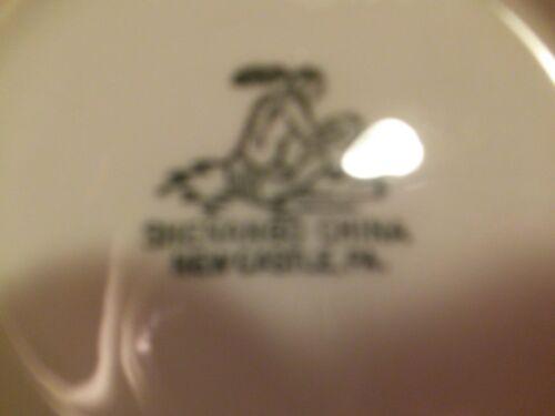 SHENANGO CHINA NEW CASTLE PENNA. LOT OF 2 SOUP BOWLS USA