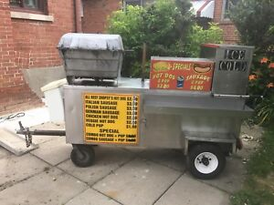 Sausage cart For sale ready to go !