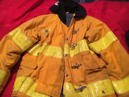 Turnout Fireman Jacket Fire Fighter Coat Size 40 Morning Pride Brand