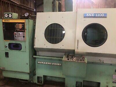 Hitachi Seiki Cnc Turning Machining Center Model 5ne-1100 Lathe