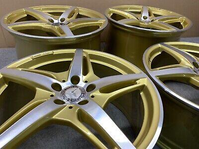 ORIGINAL MERCEDES GT AMG GOLD 19 20 ZOLL ALUFELGEN SATZ