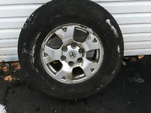 Toyota Rims - Tires (P245/75/R16) - OPEN TO OFFERS