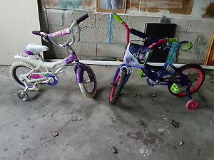 hardly used girl bicycles