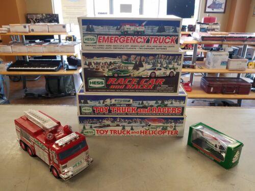 NEW --- Lot of 6 HESS Toy Trucks