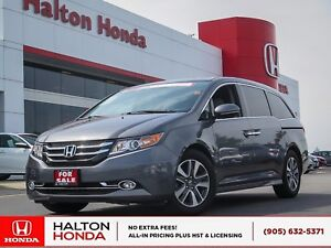2017 Honda Odyssey TOUR|ACCIDENT FREE|SERVICE HISTORY ON FILE
