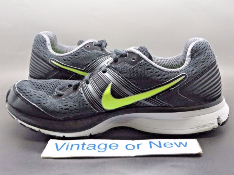 c56170f2cc59d ... Men s Nike Pegasus+ 29 Black Volt Dark Grey Running Shoes 524950-070 sz  8 ...