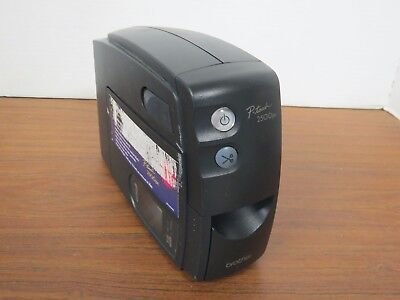Brother P-touch Label Printer Pt-2500pc 5 Widths Computer Label Printer