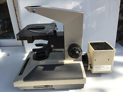 Olympus Microscope Bh2 Bhs Stand Xy Stage Hal-l 100w Lamp-house Lamphouse