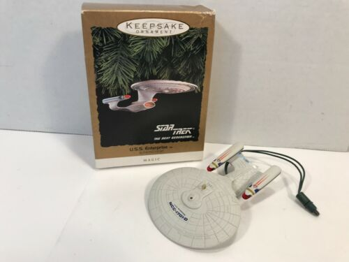 Hallmark Keepsake Ornament 1993 Star Trek U.S.S. Enterprise w/ Box