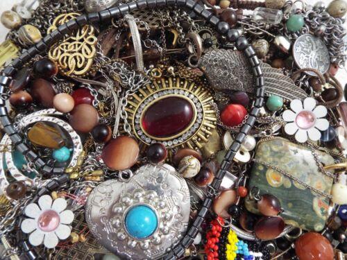~ 3 lb ~ Junk Jewelry ~ Lot L172