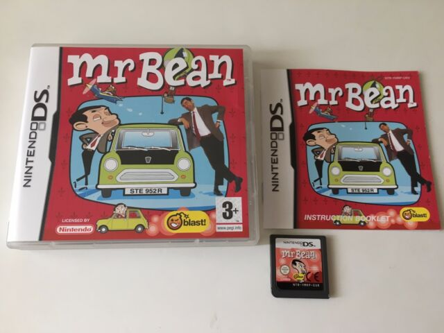 Mr. Bean for Nintendo DS / DSi, 2008 Game Complete - Mr Bean To The Rescue
