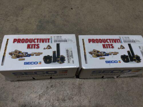 2pcs Seco grooving tools kit