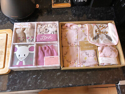 NEW Jessica Simpson & Kensie Baby Girl Clothing Gift Set Bundle SIZE 0/6M