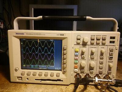 Tektronix Tds3054 500mhz 5gsas Oscilloscope Tds3trg Tds3fft Tds3aam
