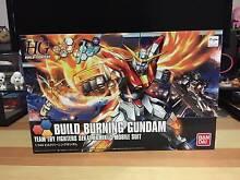NEW Bandai HG 1/144 Build Burning Gundam model kit Merrimac Gold Coast City Preview