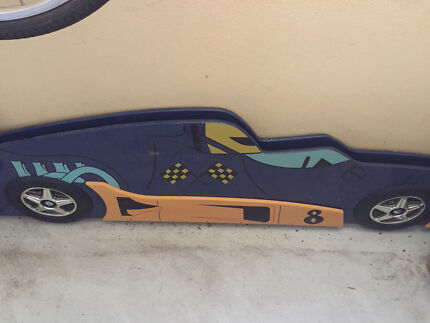 Race car sides for bed or wall decoration