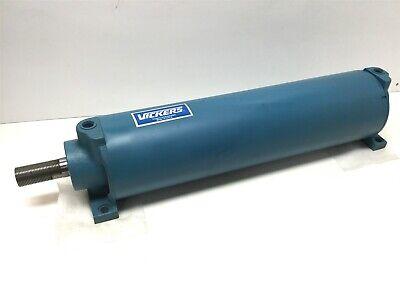 Vickers Eaton Tb01kaba1aa16000 Hydraulic Cylinder 5 Bore 16 Stroke 800 Psi