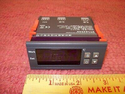 Digital Temperature Controller Thermostat Mh1210w Sensor 50-110 90-250v 10a