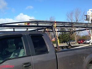 Support a échelle later rack for pick up