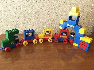 Vintage Lego Duplo Basic Set Train Station #081