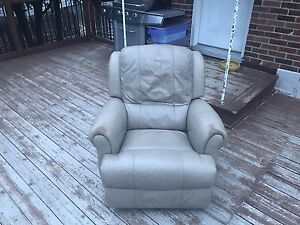 Leather recliner plus  it's a rocking chair as well