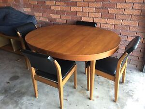 Retro Dining Table + Chairs Manly Manly Area Preview
