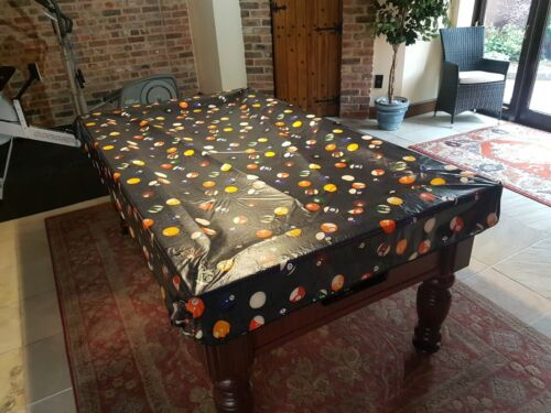 Pool table cover 7 x 4 ft (repaired)
