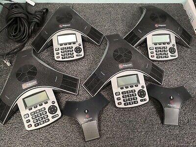 Lot 4 Polycom Soundstation Ip 5000 2201-30900-001 Ip 7000 H329