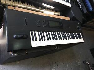 Korg 01w/fd 61 key Workstation synthesizer,  vintage/o1w/v62/SMF/ //ARMENS