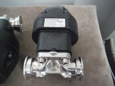 Itt Dia-flo 1 Diaphragm Valve Advantage Adv 91 Actuator Normally Closed